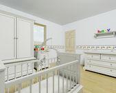 Interiér dětského pokoje — Stock fotografie