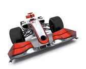 3d визуализация формула один автомобиль — Стоковое фото