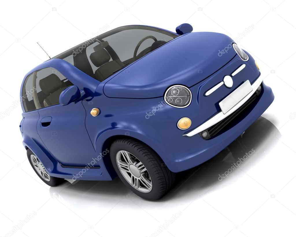 3D render of a car — Stock Photo #4411282
