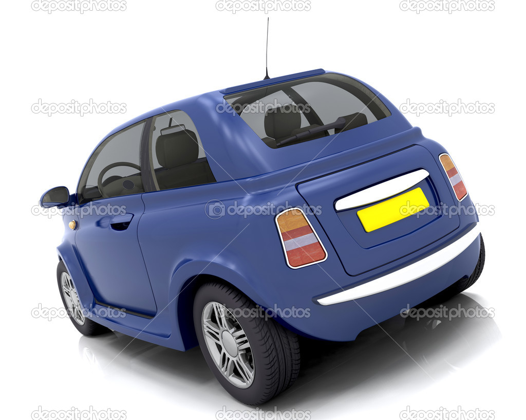 3D render of a car — Stock Photo #4411297
