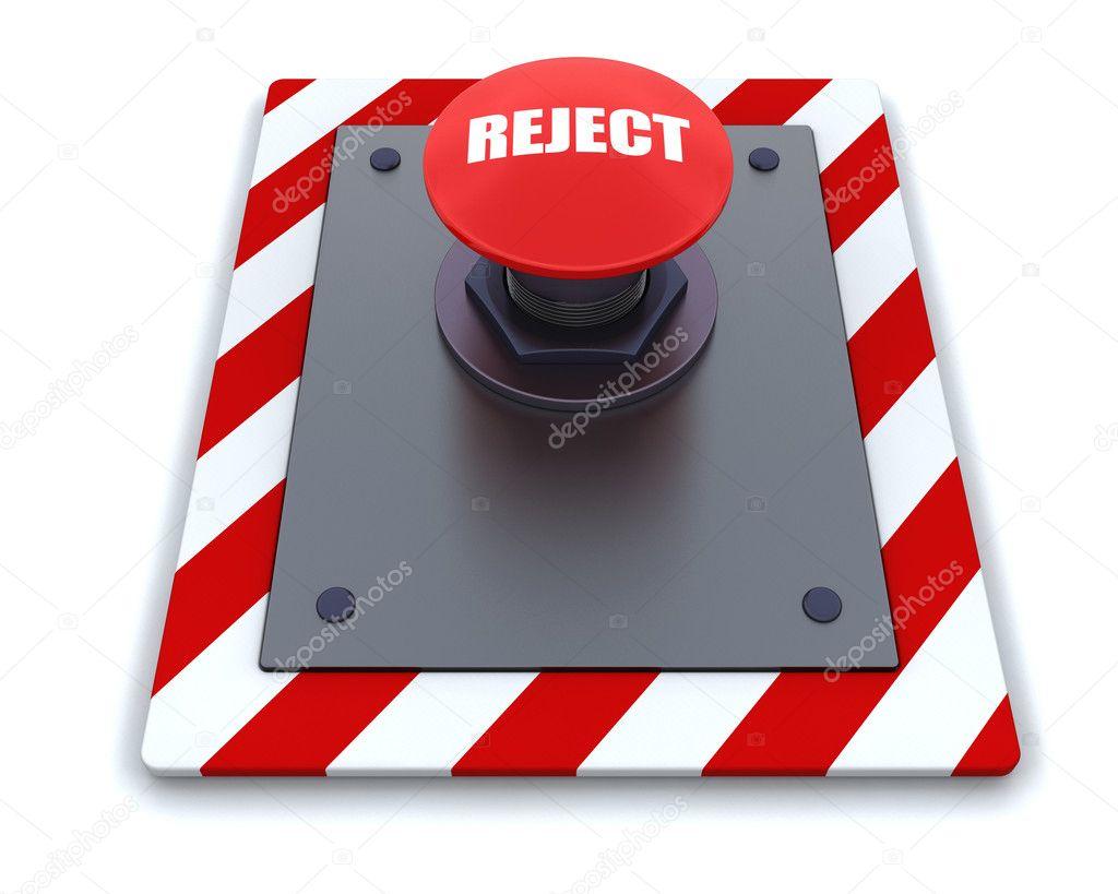 Push button stock image