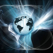 Abstract globe - Foto Stock