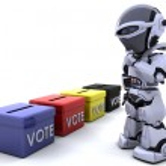 Election day ballot box — Stock Photo #5039279
