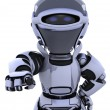 Your robot needs you - Stock Photo