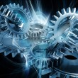 Abstract gears — Stockfoto #5042309