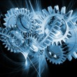 Foto Stock: Abstract gears