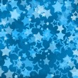 Grunge star background - Stock Photo