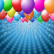 Balloon background — Stockfoto