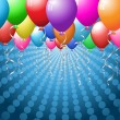Stock Photo: Balloon background