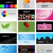 Foto Stock: Business card designs
