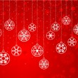Decorative snowflake background — Lizenzfreies Foto