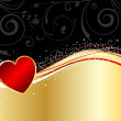 Valentines background - Foto Stock