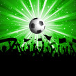 Stockfoto: Football crowd
