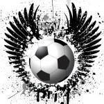 Grunge football background — Stock Photo #5047223