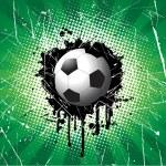 Grunge football background — Stock Photo #5047233