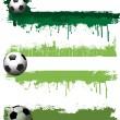 Grunge football banners — Stock Photo #5047248