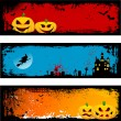 Grunge Halloween backgrounds — Stock Photo