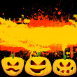 Grunge Halloween background — Stockfoto