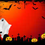 Fondo halloween Grunge — Foto de Stock