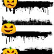 Grunge Halloween borders — Stock Photo #5047416
