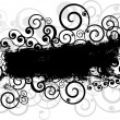 图库照片: Grunge swirls background