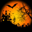Royalty-Free Stock Photo: Halloween background