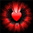 Heart background - Foto de Stock