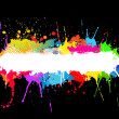 Paint splat background — Stock Photo