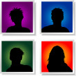 Avatars — Stock Photo