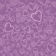 Hearts background - Foto de Stock