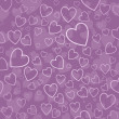 Hearts background — Stock Photo #5048319