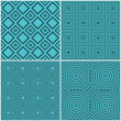 Seamless tile retro backgrounds — Stock Photo