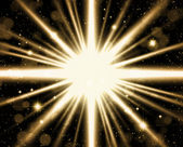 Abstract star burst background — Stock Photo