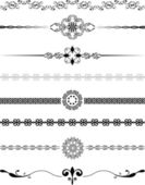 Decorative borders — Stock Photo
