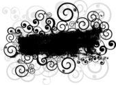 Grunge swirls background — Stock Photo