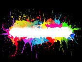 Paint splat background — Stock Photo