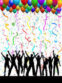 Party background — Stock Photo