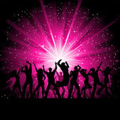 Party background — Stockfoto