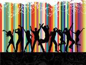 Fiesta grunge — Foto de Stock