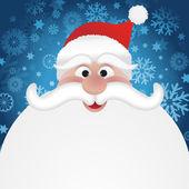 Santa background — Stock Photo