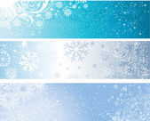 Winter banners — Stock Photo
