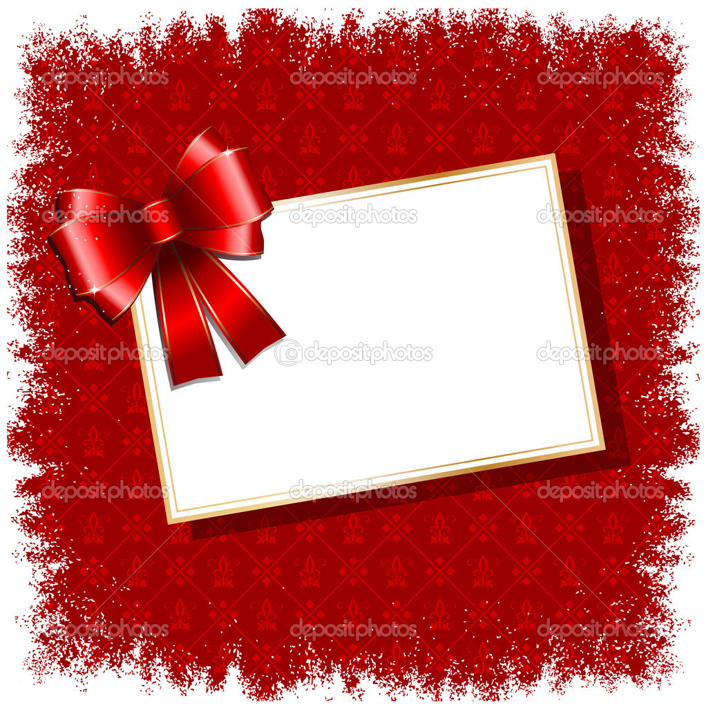 Christmas Gift Background: Christmas Gift Label Background