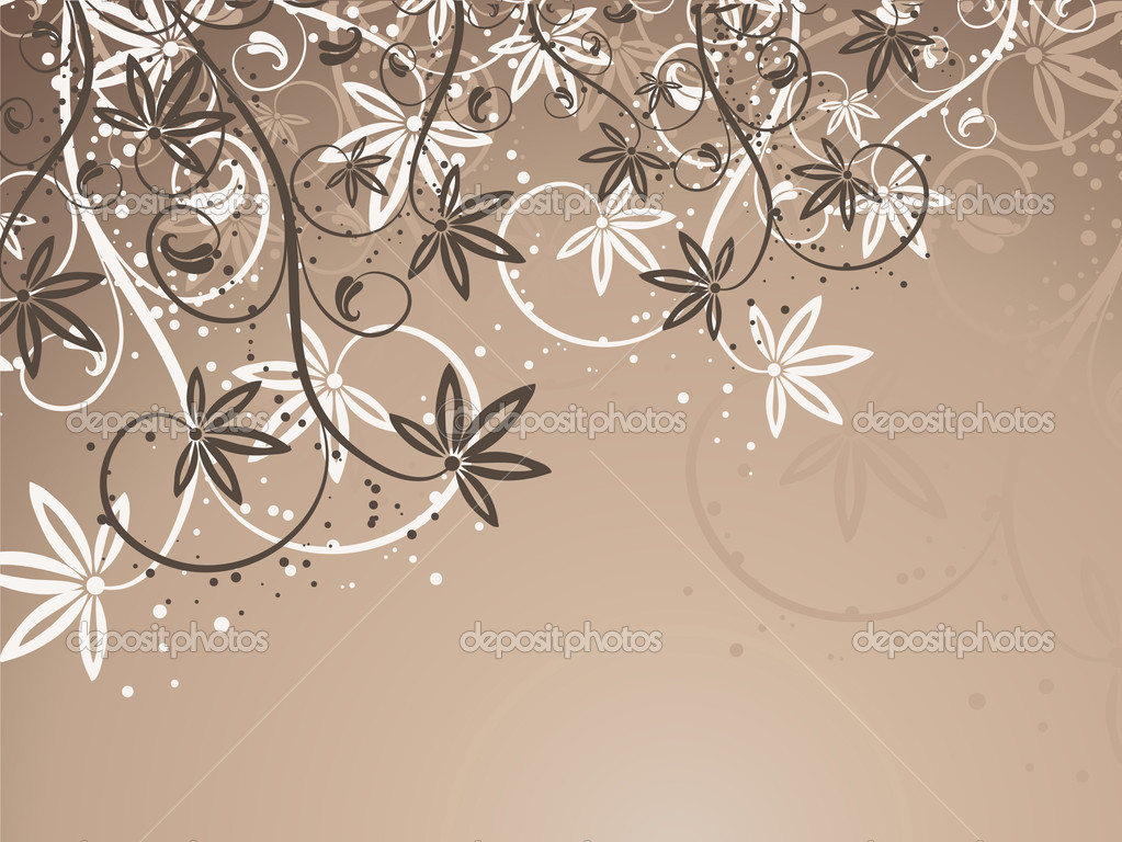 Abstract floral background  — Stock Photo #5046636