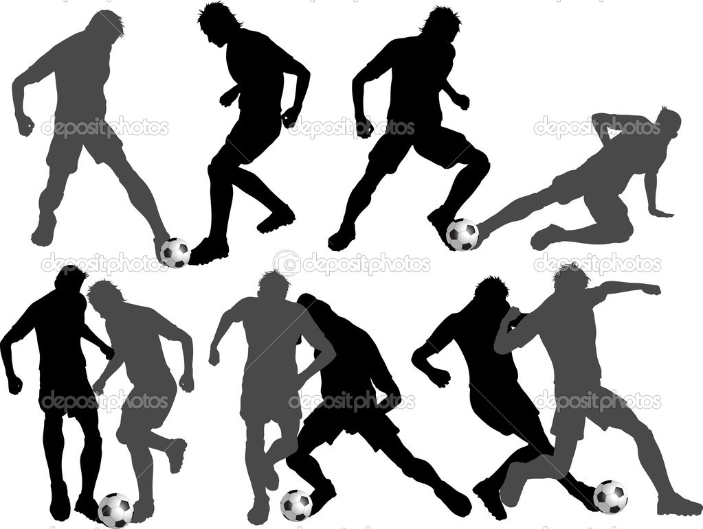 足球运动员 — 图库照片08kjpargeter#5046986