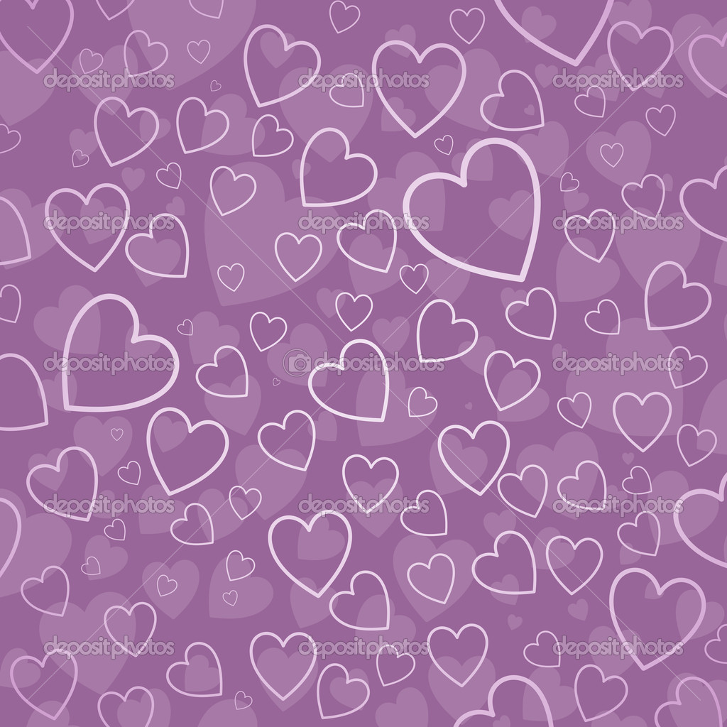 Background of hearts in shades of pink  Stock Photo #5048319