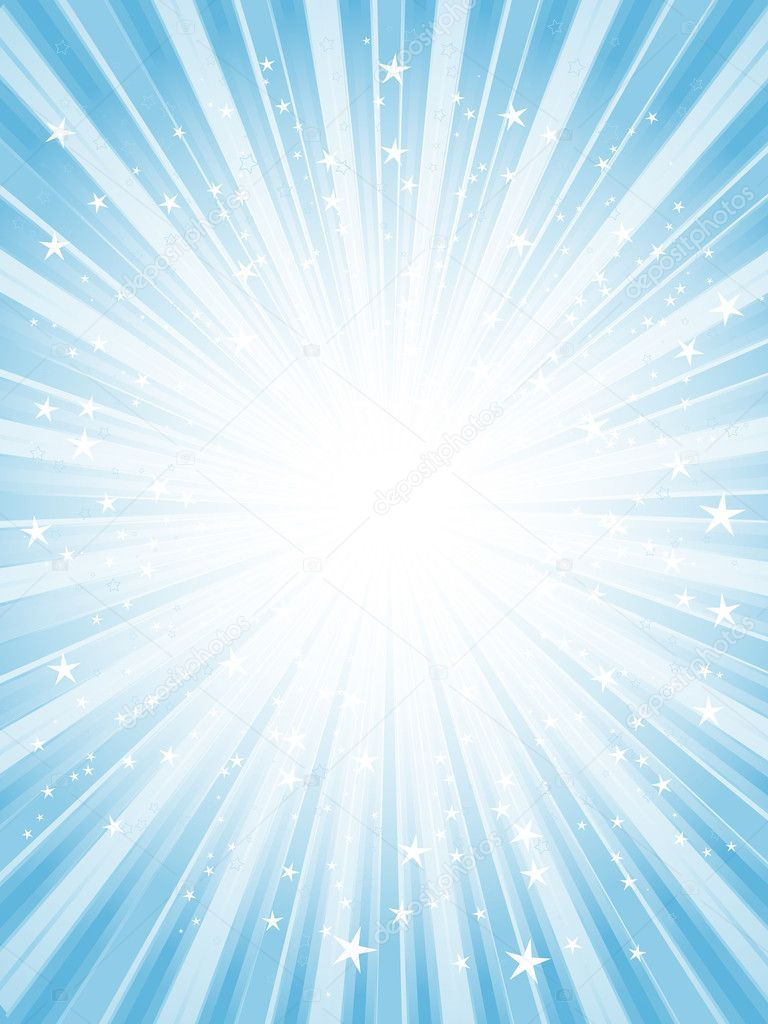 Starburst background in shades of blue — Stock Photo #5048562