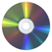 CD Compact Disc — Stock Photo
