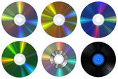CDs & Record — Foto Stock
