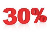 Discount 30% — Stock Photo