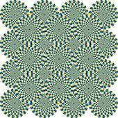 Optical Illusion Circles — Stockfoto
